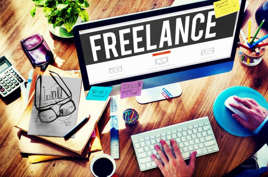 freelance υπολογιστής χαρτιά καφές