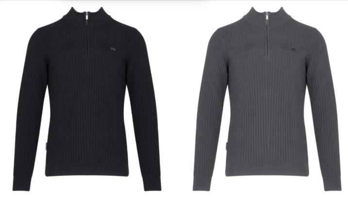 half zip πουλόβερ