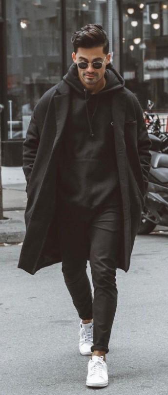 μαύρο αντρικό ντύσιμο