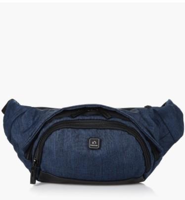 μπλε αντρικό τσαντάκι μέσης