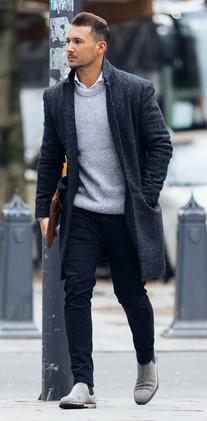 πουκαμισο με πουλοβερ