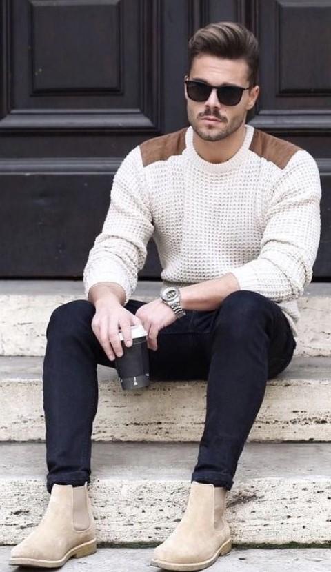 χειμωνιάτικο ντύσιμο άντρα