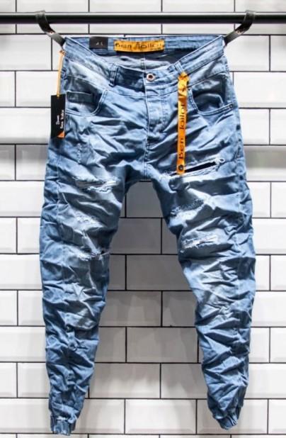 ανοιχτόχρωμο τζιν παντελόνι ανδρικό
