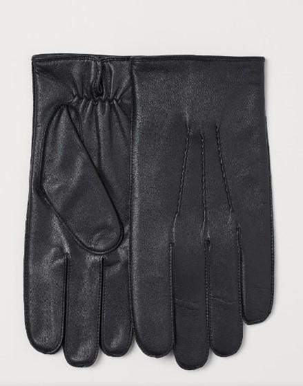 αντρικά δερμάτινα γάντια