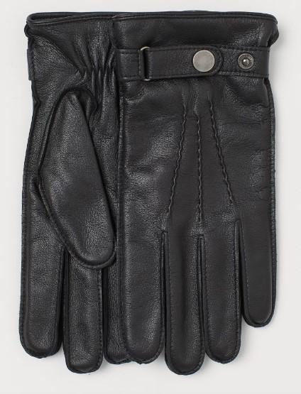 αντρικά γάντια με λουρί