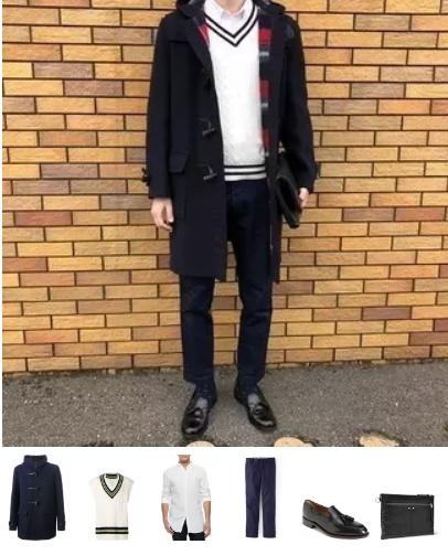 αντρικό ντύσιμο με παλτό