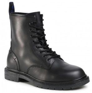 αρβυλάκι μαύρο δερμάτινο ανδρικά παπούτσια όλες ώρες