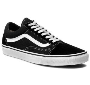 ασπρόμαυρο vans παπούτσι