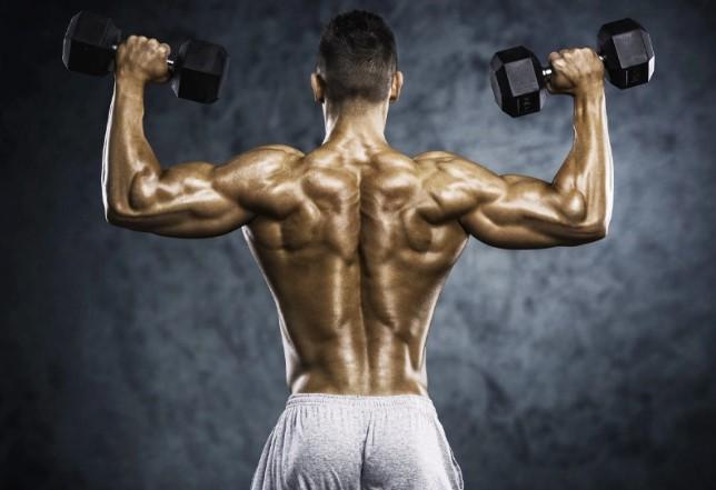 Workout για πλάτη με βάρη, δύο αλτήρες