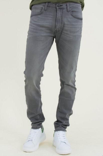 γκρι ανδρικό παντελόνι τζιν lee
