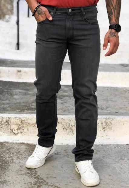 γκρι ανδρικό τζιν παντελόνι
