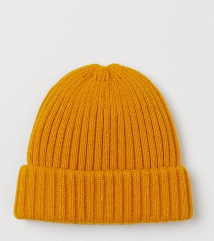 κίτρινο σκουφάκι