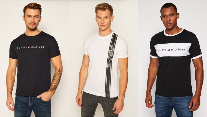 κοντομάνικα T-shirts ασπρόμαυρα