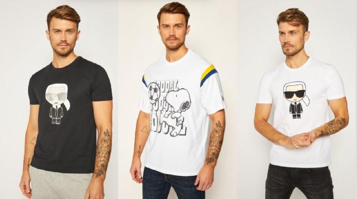 κοντομάνικα T-shirts φιγούρες