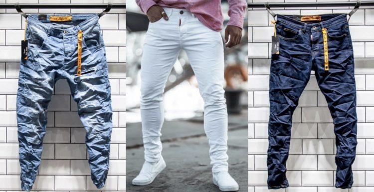 μοντέρνα ανδρικά jean