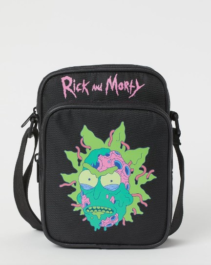rick and morty αντρικό τσαντάκι