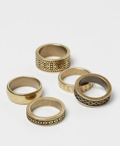 σετ αντρικά δαχτυλίδια