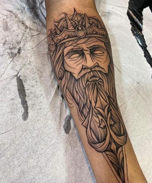τατουάζ γάμπας