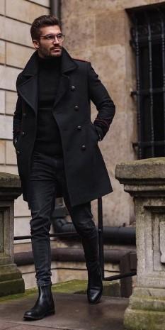 μαυρο ντυσιμο ανδρικο