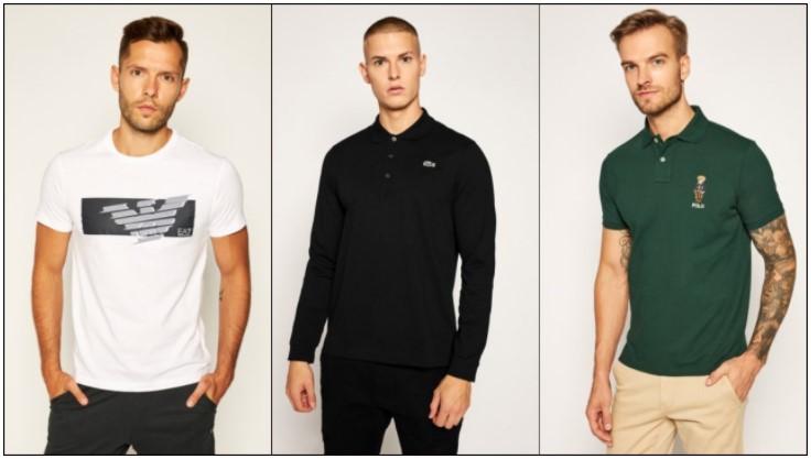 T-shirt polo μπλουζάκια