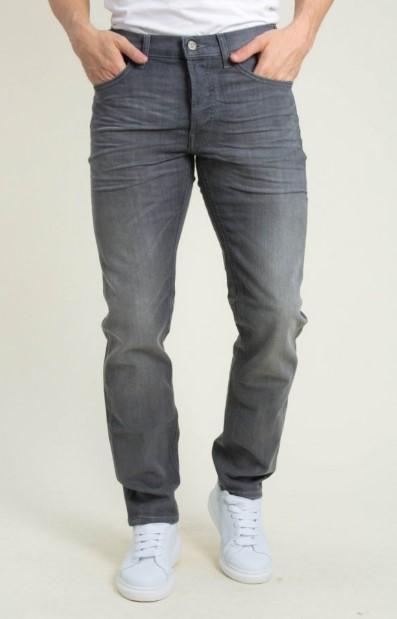 τζιν ελαστικό παντελόνι σε γκρι χρώμα
