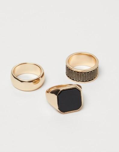 χρυσά αντρικά δαχτυλίδια