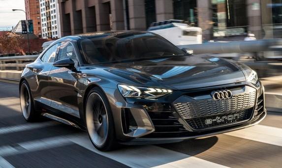αυτοκίνητο 2021 audi e-tron GT