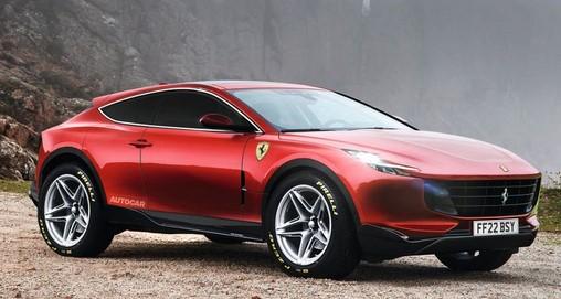 αυτοκίνητο Ferrari Purosangue SUV