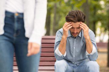 Σκέφτεται μετά από χωρισμό