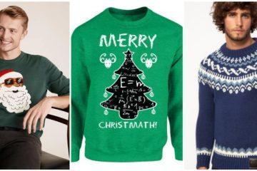 Ανδρικά Χριστουγεννιάτικα πουλόβερ