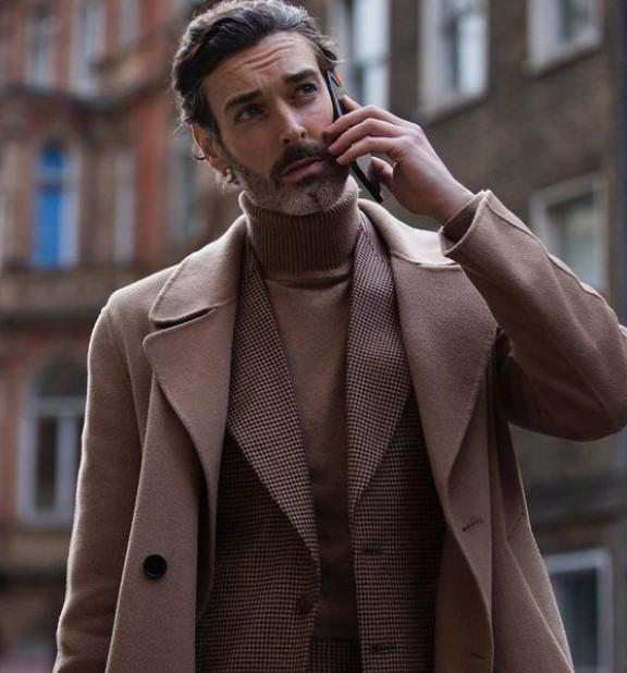 ανδρικό ντύσιμο με ζιβάγκο