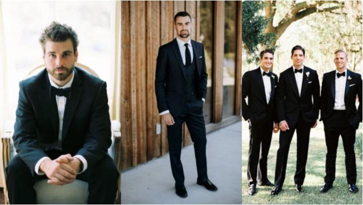 μαύρα κοστούμια ρούχα κουμπάρος