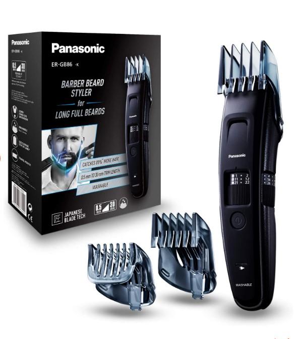 Panasonic κουρευτική μηχανή που θα μας αφήσει άφωνους με τις επιδόσεις της! 60 διαφορετικές σκάλες