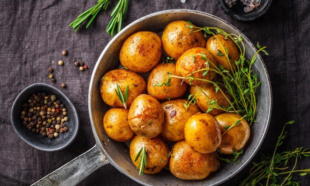 στις πατάτες θα βρεις σύνθετους υδατάνθρακες