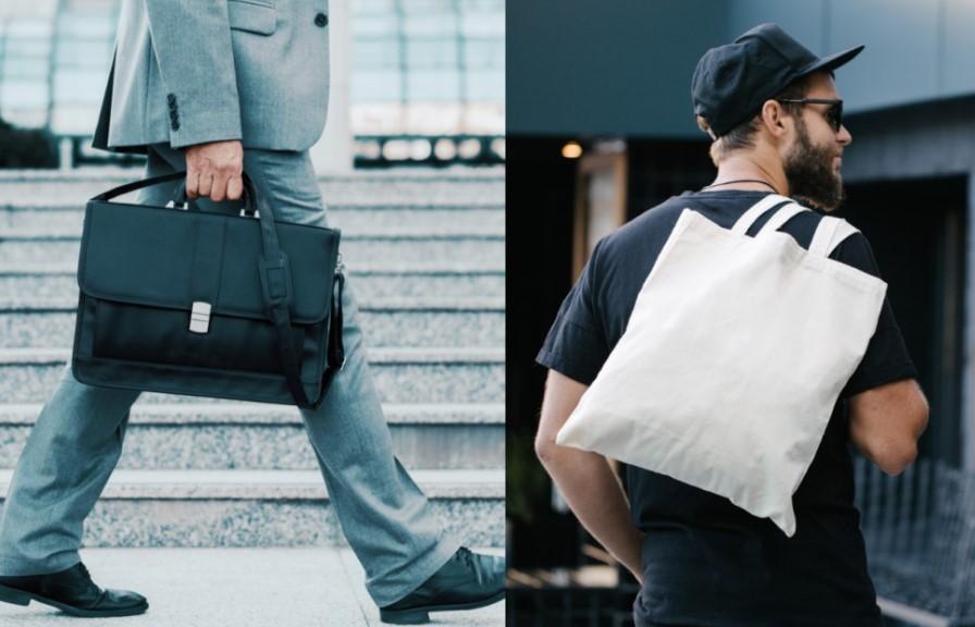 Χαρτοφύλακας ή cotton-βαμβακερή τσάντα