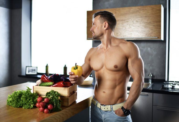 άνδρας γραμμωμενος - διατροφή για ωραίο σώμα