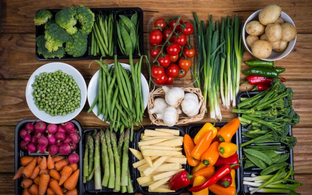 Για να βάλεις όγκο μην ξεχνάς και τα λαχανικά-φρούτα