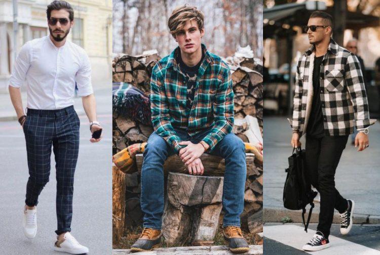 ανδρικα ντυσιματα για να συνδυάσεις τέλεια τα καρό ρούχα the-man.gr