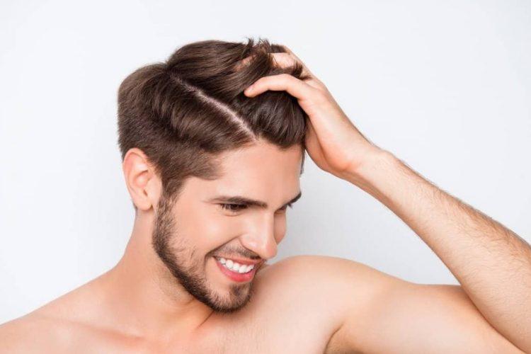 άντρας υγιή μαλλιά καλύτερα σαμπουάν κατά πιτυρίδας