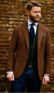 καρο σακακι the-man.gr