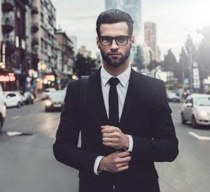 κομψός άντρας κοστούμι πράγματα γυναίκες εύχονται γνώριζες