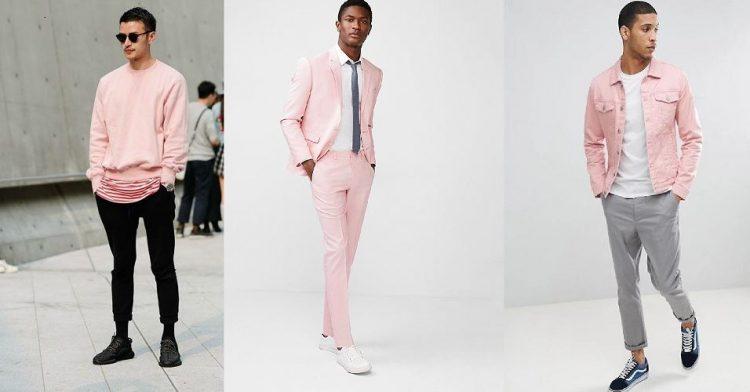 ανδρικά outfits με ροζ