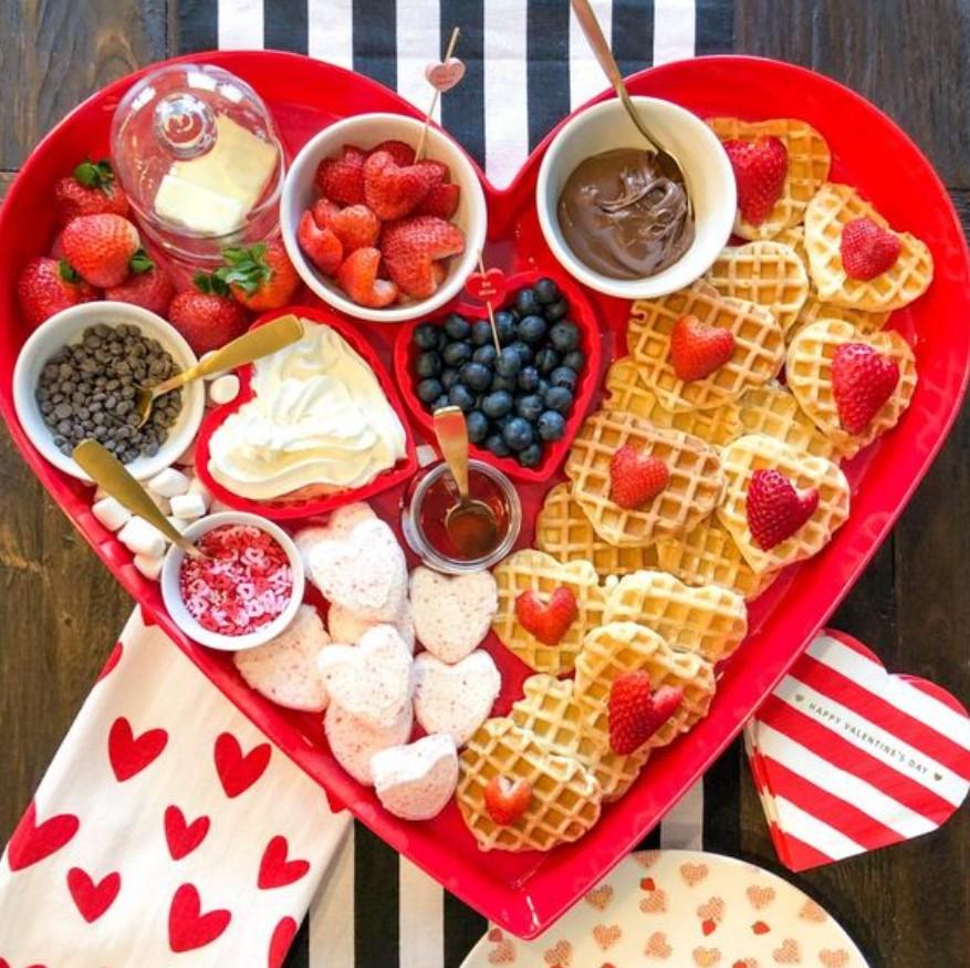 ρομαντικό πρωινό