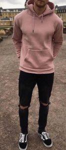 ροζ φουτερ