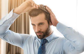 ανδρικό styling μαλλιών