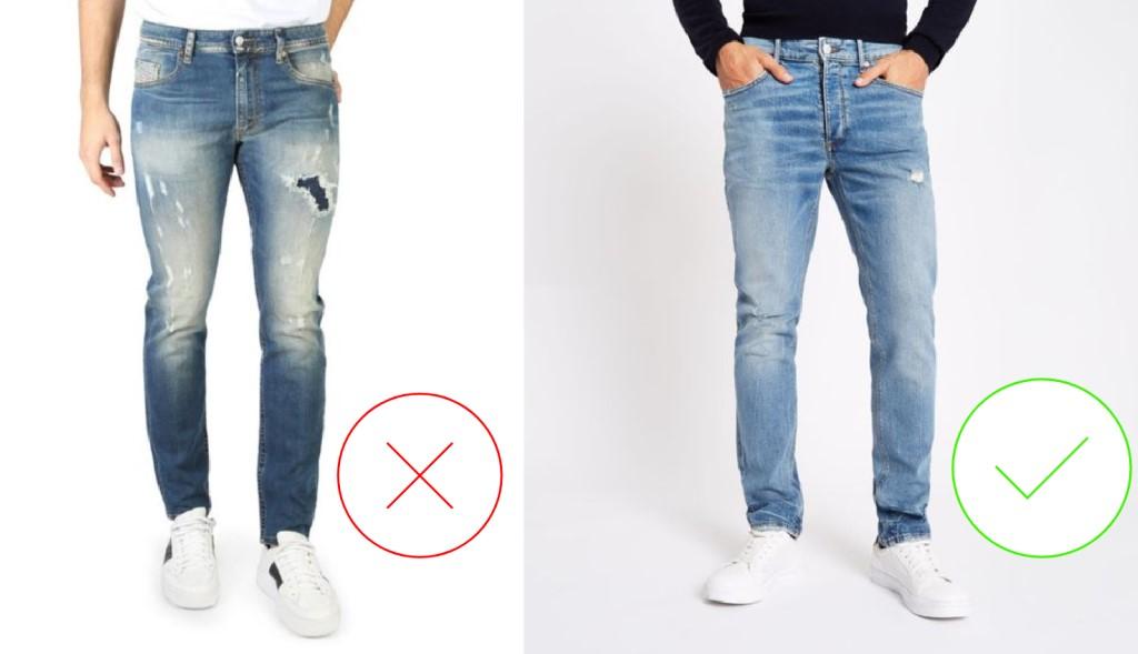 αντρικά τζιν παντελόνια