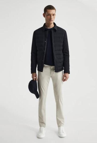 άσπρο παντελόνι μαύρο jacket