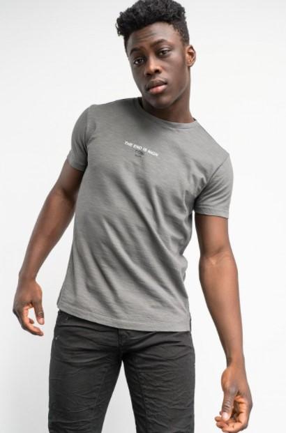 γκρι μπλουζάκι Cosi jeans άνοιξη- καλοκαίρι 2021
