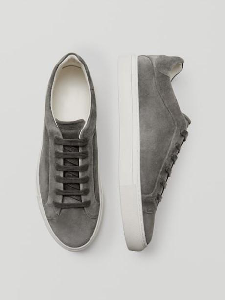 γκρι sneakers Massimo Dutti καλοκαίρι 2021