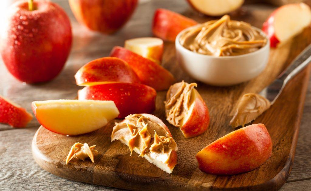 φυστικοβούτυρο με μήλο